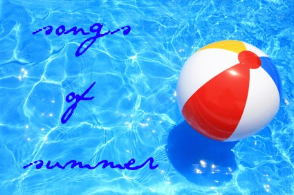 summer pool beach ball