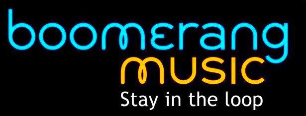 boomerang music logo