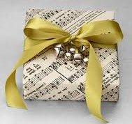 sheetmusicwrappedgift