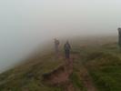 Bergpad in de mist MarkHillary