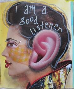 listener collage
