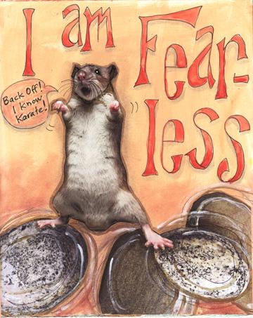 Fearless Rat