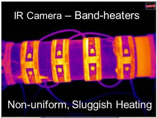 Infrared camera_band heaters