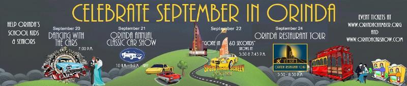 Celebrate September in Orinda