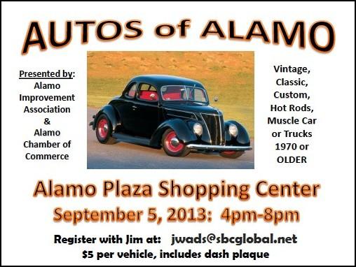 Alamo auto show