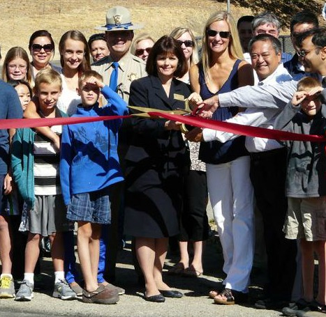 Alamo School Crosswalk Ribbon Cutting