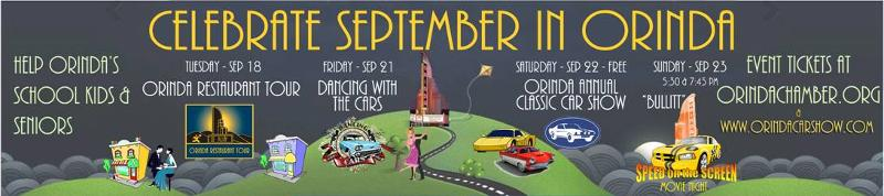 Celebrate September in Orinda
