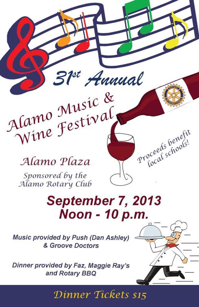 Alamo Rotary Music & Wine