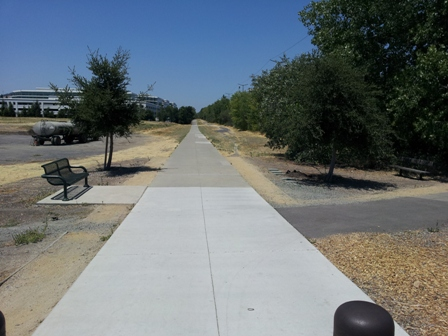 San Ramon Iron Horse Trail Landscaping Project