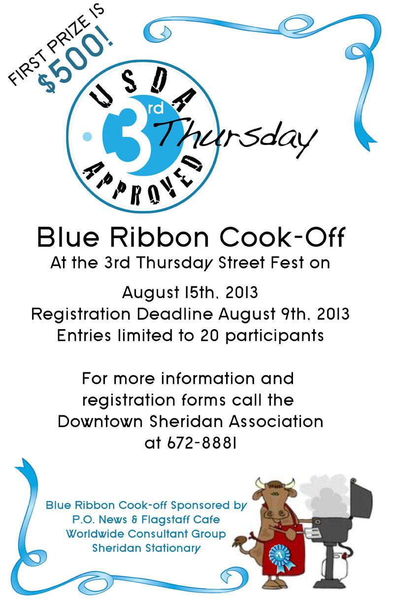 Blue Ribbon Steak Cook off