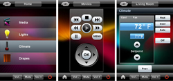 Crestron iPhone Apps