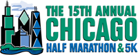 Chicago 1/2 marathon logo
