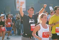 Steve Lutz running