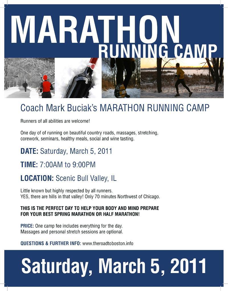 Mark's Running Camp