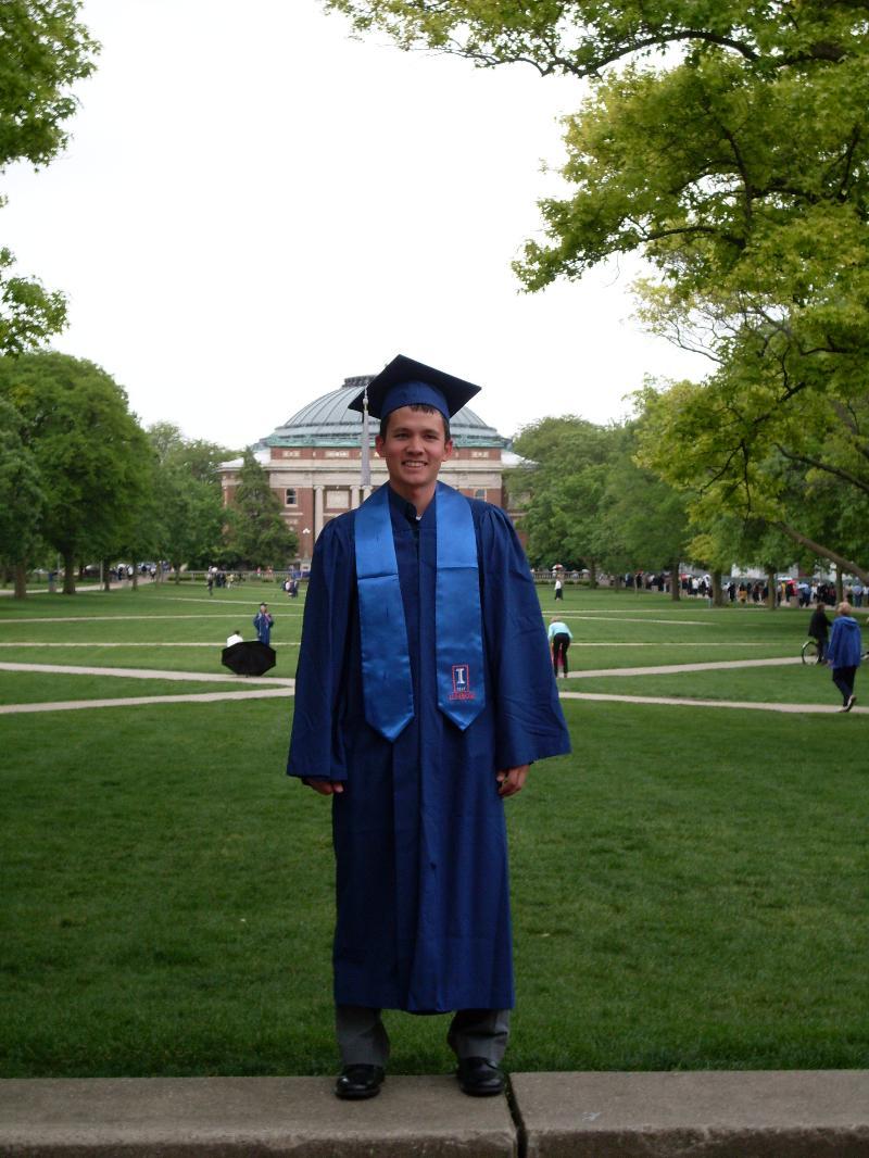 Brian - college grad