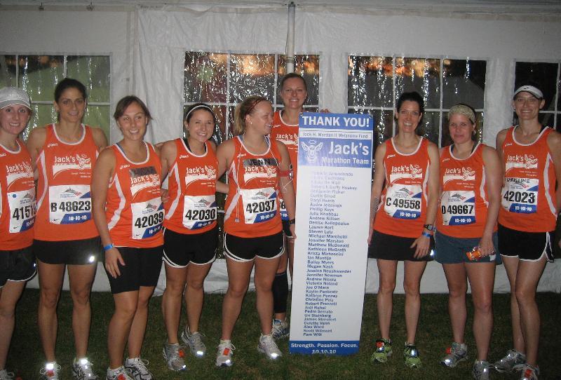 marathoners 2010 balbo tent