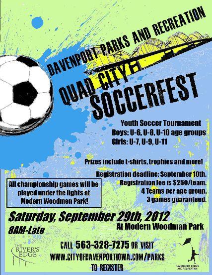 Soccer fest poster