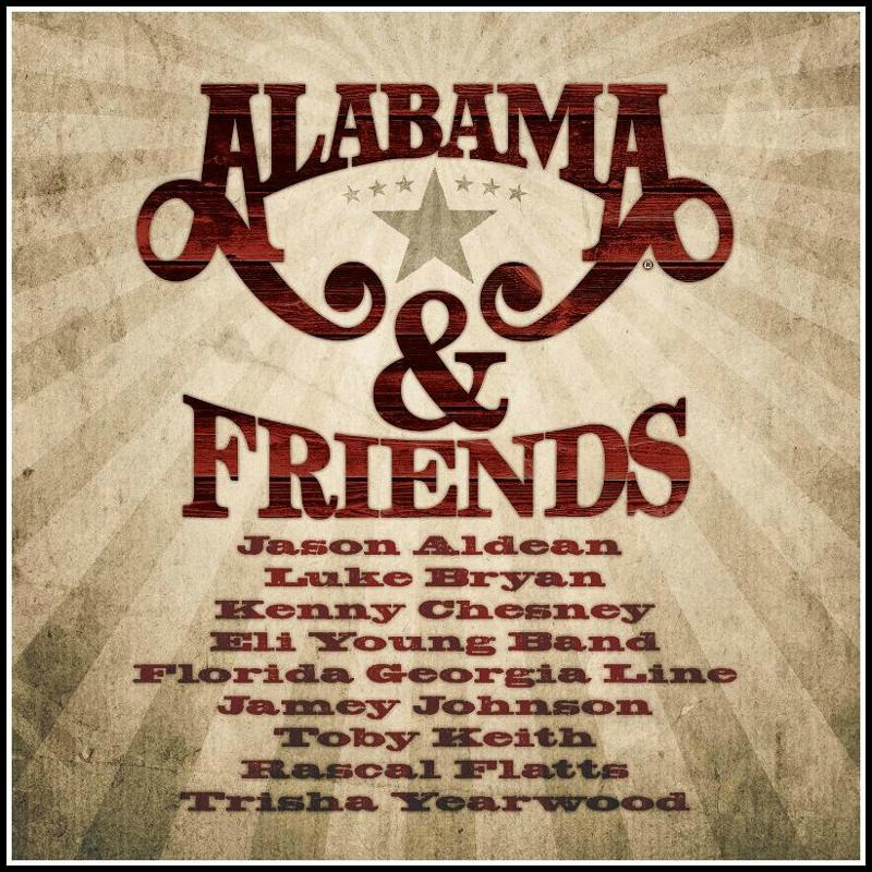 ALABAMA & Friends - Cover Art
