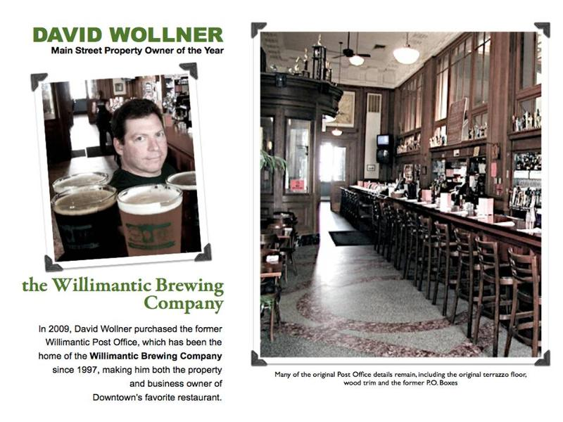 David Wollner, Owner - Willimantic Brewing Company