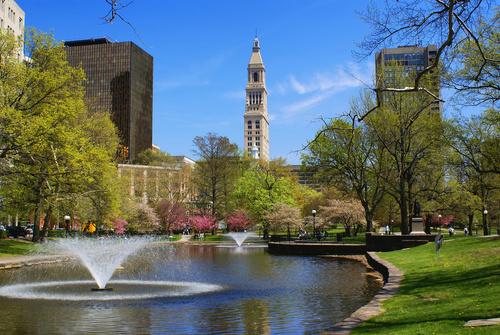 Bushnell Park, Downtown Hartford