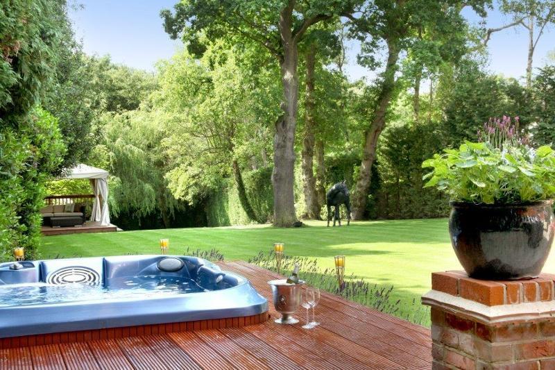 Bourne House Hot Tub
