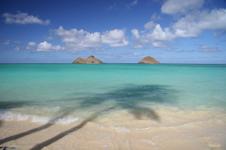 small Hawaiian beach