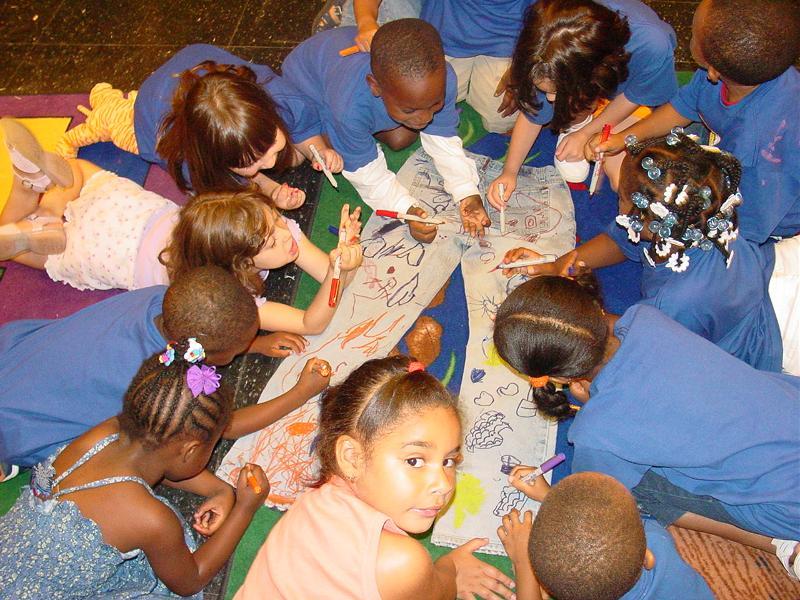 Children at Newark Museum