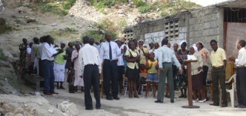 Haitian Worshipers
