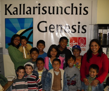 Children in Peru's Program