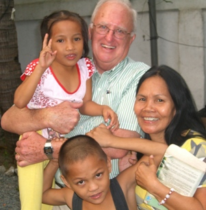 Board Chairman Dave Ryder in the Philippines