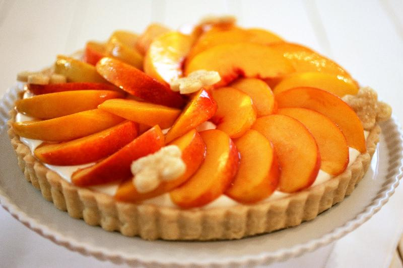 peach tart june pt