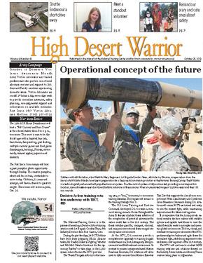 High Desert Warrior October 25, 2012