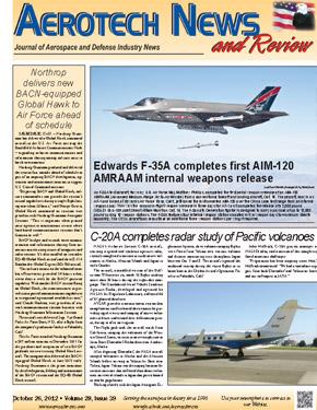 Aerotech News October 26, 2012