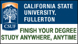 Cal State Fullerton button