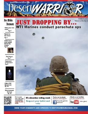 Desert Warrior October 11, 2012