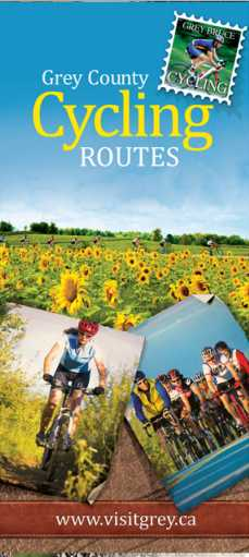 Grey County Cycling Routes