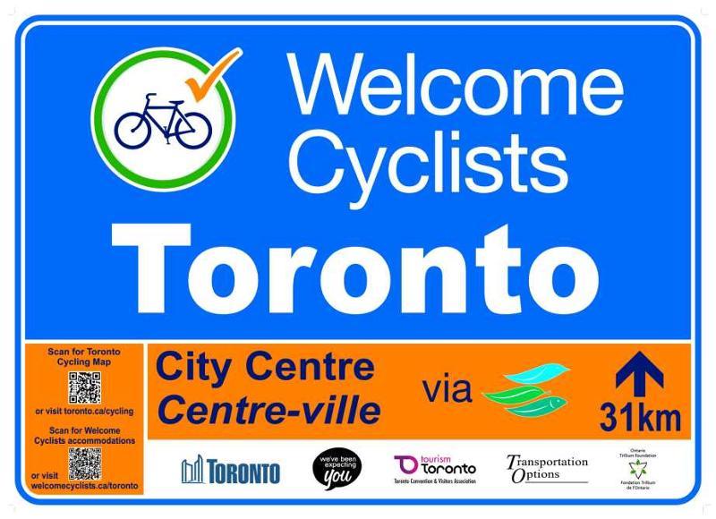 Welcome Cyclists Toronto
