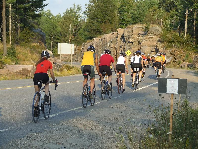 Group Riding Photo Credit: Bike Shop Gravenhurst