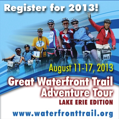 Great Waterfront Trail Adventure 2013
