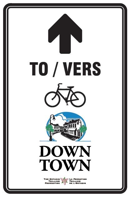 Niagara Cycling Sign