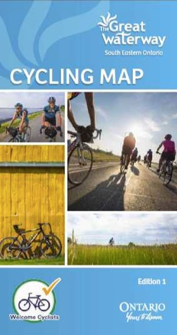 The Great Waterway Cycling Map