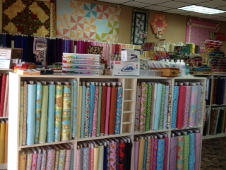 lots of fabric at QHQ