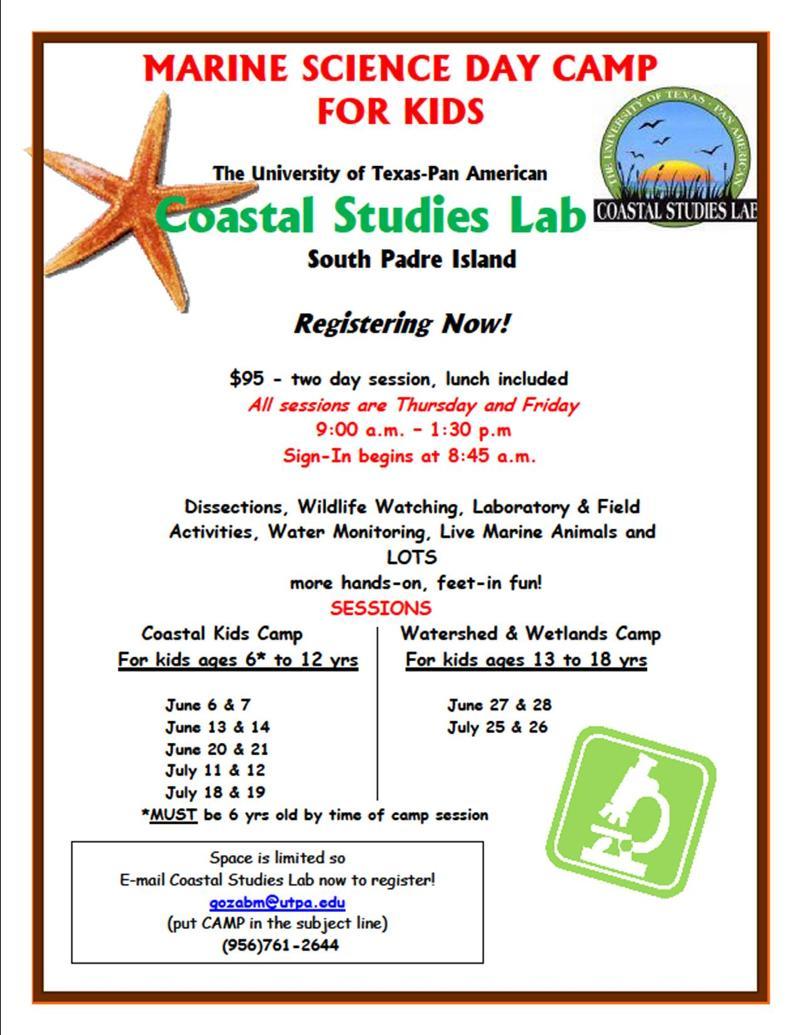 CoastalStudiesSummerCamp
