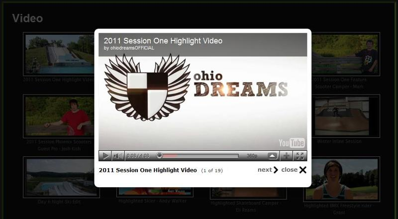 ohio dreams video page thumbnail