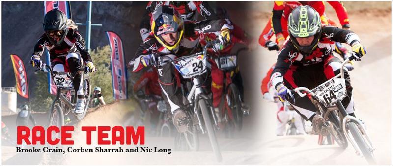 Haro BMX Race, Brooke Crain, Corben Sharrah, Nic Long