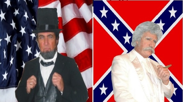 Abe, Twain Civil War