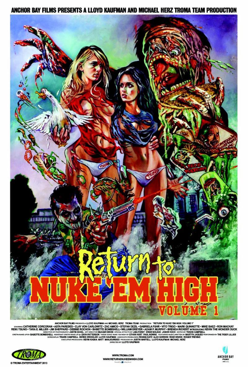 Return To Nuke Em High Vol 1 Will Open New York City Horror Film