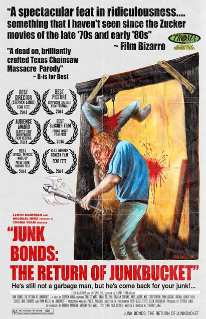 troma entertainment acquires junk bonds the return of junkbucket troma. Black Bedroom Furniture Sets. Home Design Ideas