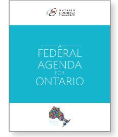 A Federal Agenda for Ontario