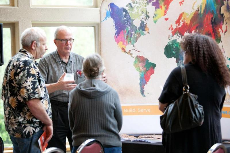 TJD exhibitor, participants, world map